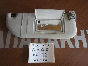 Toyota Aygo 2006-2014 αλεξήλιο δεξιό