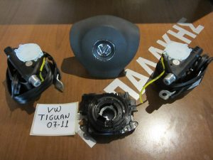 VW Tiguan 2007-2011 σετ airbag μαύρα