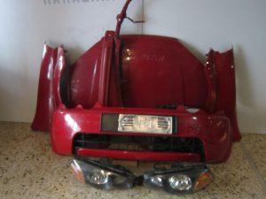 honda hrv 1999 2001 mouri kokkini kapo 2ftera 2fanaria profylaktiras traversa profylaktira traversa ano psygia koble 300x225 Honda HRV 1999 2001 μετώπη μούρη κόκκινη: καπό  2φτερά  2φανάρια  προφυλακτήρας  τραβέρσα προφυλακτήρα  τραβέρσα άνω  ψυγεία κομπλέ