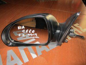 Kia Ceed 2006-2012 αριστερός μηχανικός καθρέπτης μολυβί 5θυρο