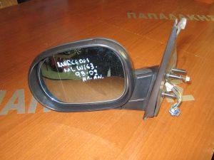 Mercedes ML w163 1998-2002 αριστερός ηλεκτρικά ανακλινόμενος καθρέπτης άβαφος