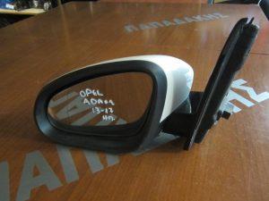 Opel Adam 2013-2017 αριστερός ηλεκτρικός καθρέπτης άσπρος