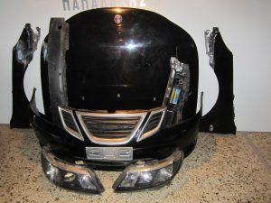 saab 9 3 2007 2014 mouri mavri kapo 2 ftera 2 fanaria traversa ano profylaktiras koble 300x225 Saab 9 3 2007 2014 μετώπη μούρη μαύρη: καπό  2 φτερά  2 φανάρια  τραβέρσα άνω  προφυλακτήρας κομπλέ