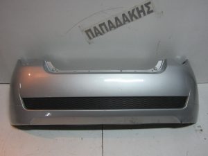 Chevrolet Aveo 2008-2012 προφυλακτήρας πίσω ασημί 3/5πορτο αφρολέξ