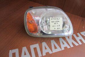 Nissan Micra K11 2001-2003 φανάρι εμπρός δεξιό
