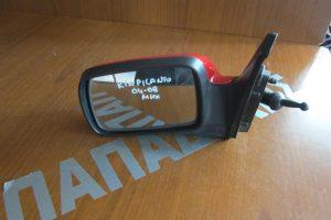 Kia Picanto 2004-2008 μηχανικός καθρέπτης αριστερός κόκκινος