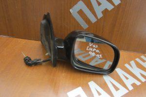 VW Lupo 1998-2005 μηχανικός καθρέπτης δεξιός μαύρος
