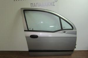 Chevrolet Matiz 2005-2009 πόρτα εμπρός δεξιά ασημί