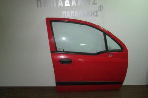 Chevrolet Matiz 2005-2009 πόρτα εμπρός δεξιά κόκκινη