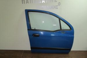 Chevrolet Matiz 2005-2009 πόρτα εμπρός δεξιά μπλε