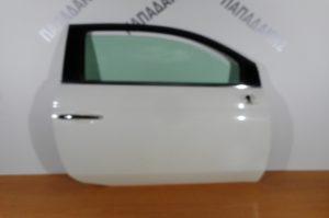 Fiat 500 2007-2016 πόρτα δεξιά δίπορτη άσπρη