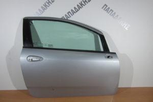 Fiat Grande Punto 2005-2015 πόρτα δεξιά δίπορτη ασημί
