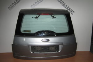 Ford Focus C-Max 2003-2007 πόρτα μπαγκάζ ασημί