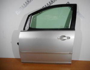 Ford Focus C-Max 2003-2010 πόρτα εμπρός αριστερή ασημί