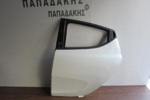 Lancia Y 2011-2017 πόρτα πίσω αριστερή άσπρη