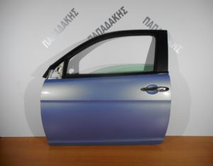 Lancia Ypsilon 2003-2011 πόρτα αριστερή δίπορτη γαλάζια