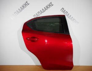 mazda 2 2014 2018 porta piso dexia kokkino 300x234 Mazda 2 2014 2018 πόρτα πίσω δεξιά κόκκινο