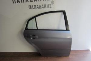 mazda 6 2002 2008 porta piso dexia asimi skoyro sedan 300x200 Mazda 6 2002 2008 πόρτα πίσω δεξιά ασημί σκούρο Sedan