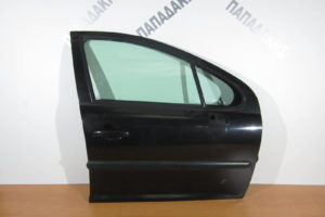 Peugeot 207 2006-2012 πόρτα εμπρός δεξιά μαύρη