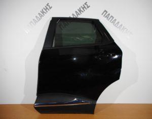 Renault Captur 2013-2018 πόρτα πίσω αριστερή μαύρη