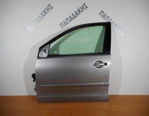 VW Polo 2002-2009 πόρτα εμπρός αριστερή ασημί (βαφόμενη φάσα )