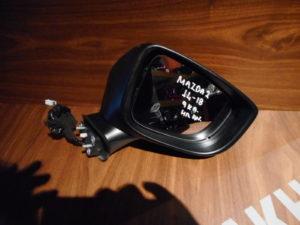 mazda 2 2014 2018 ilektrika anaklinomenos kathreptis gkri 9 kalodia 300x225 Mazda 2 2014 2018 δεξιός ηλεκτρικά ανακλινόμενος καθρέπτης γκρι 9 καλώδια