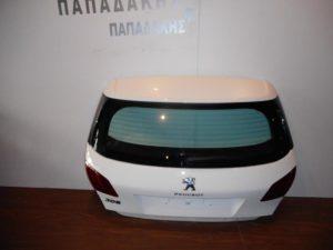 Peugeot 308 2013-2017 πόρτα πίσω 5η άσπρη