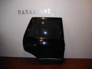 Hyundai Santa Fe 2000-2006 πόρτα πίσω δεξιά μαύρη