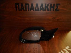 Kia Soul 2014-2018 ηλεκτρικά ανακλινόμενος καθρέπτης αριστερός μαύρος 8 ακίδες