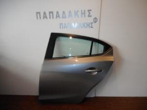 mazda 3 5thyro 2013 2016 piso aristeri porta asimi skoyro 300x225 Mazda 3 5θυρο 2013 2016 πίσω αριστερή πόρτα ασημί σκούρο