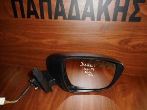 Nissan Juke 2014-2017 ηλεκτρικός καθρέπτης δεξιός γκρι 5 καλώδια
