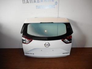 Opel Crossland X 2018-> οπίσθια πόρτα άσπρη (μπαγκάζ)