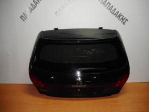 Peugeot 308 2013-2017 πόρτα πίσω μαύρη (μπαγκάζ)