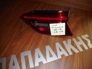 VW Tiguan 2016-2018 φανάρι πίσω δεξιό εσωτερικό