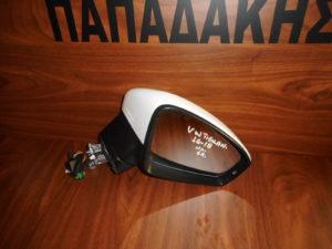 VW Tiguan 2016-2018 ηλεκτρικός καθρέπτης δεξιός άσπρος 6 καλώδια