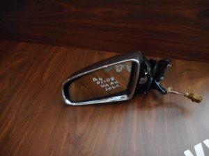 Audi A4 2001-2008 S4 αριστερός καθρέπτης ηλεκτρικά ανακλινόμενος νίκελ 10 καλώδια υδραργυρικό τζάμι