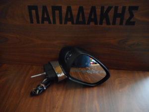 Citroen C3 2009-2016 δεξιός καθρέπτης ηλεκτρικά ανακλινόμενος μαύρος 11 καλώδια
