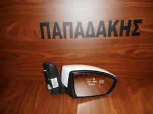 Ford Kuga 2011-2018 δεξιός καθρέπτης ηλεκτρικά ανακλινόμενος άσπρος 8 ακίδες φως ασφαλείας