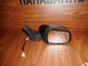 Ford Mondeo 2007-2011 δεξιός καθρέπτης ηλεκτρικά ανακλινόμενος μαύρος 11 καλώδια φως ασφαλείας