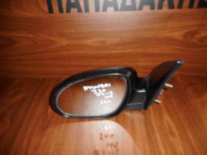 Hyundai i30 2007-2012 αριστερός καθρέπτης ηλεκτρικός μαύρος 5 ακίδες