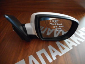 Hyundai IX35/Tucson 2010-2015 δεξιός καθρέπτης ηλεκτρικά ανακλινόμενος άσπρος 8 ακίδες