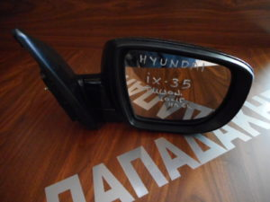 Hyundai IX35/Tucson 2010-2015 δεξιός καθρέπτης ηλεκτρικός μαύρος 6 καλώδια