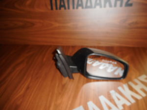 Renault Megane 2008-2016 δεξιός καθρέπτης ηλεκτρικός ασημί σκούρο 8 ακίδες