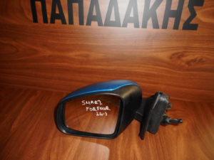 Smart ForFour 2014-> αριστερός καθρέπτης μηχανικός μπλε