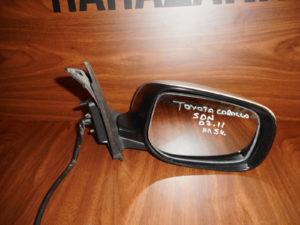 Toyota Corolla SDN 2007-2011 δεξιός καθρέπτης ηλεκτρικός ασημί 5 καλώδια
