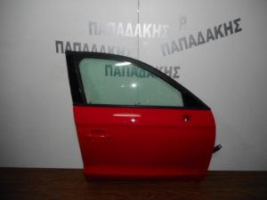 Audi A1 2010-2018 πόρτα εμπρός δεξιά κόκκινη