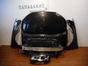 Audi A3 2008-2013 μούρη κομπλε μαύρη
