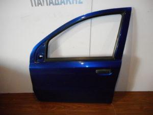 Fiat Panda 2003-2012 εμπρός αριστερή πόρτα μπλε σκούρο