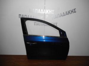 Renault Megane 2016-2018 πόρτα εμπρός δεξιά μπλε σκούρο