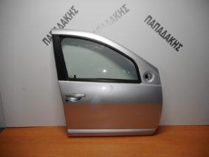 dacia sandero 2012 2017 porta empros dexia asimi 300x225 Dacia Sandero 2007 2012 πόρτα εμπρός δεξιά ασημί
